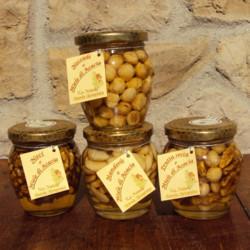 """Miele di Acacia con noci nocciole e mandorle - 220 g Azienda Agriapistica Biologica """"La Natura"""""""
