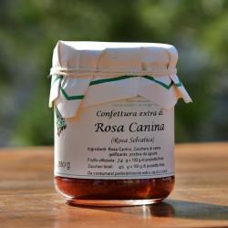 "Confettura di Rosa canina selvatica - 210 g Azienda Agriapistica Biologica ""La Natura"""