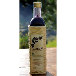 """Mirtillino liqueour - 500 ml Azienda Agriapistica Biologica """"La Natura"""""""