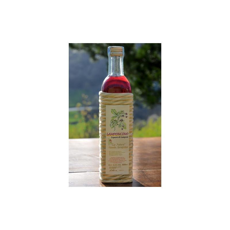 """Lamponcino liqueour - 500 ml Azienda Agriapistica Biologica """"La Natura"""""""