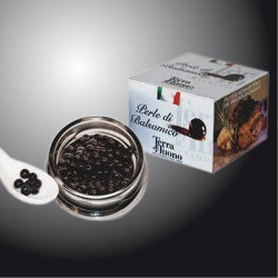 Black Pearls of Balsamic Vinegar 50 gr. - Terra del Tuono