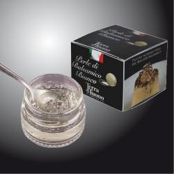 Perle di aceto balsamico bianche 50 gr - Terra del Tuono