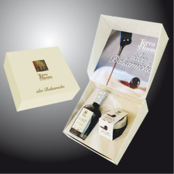 "Gift Case ""Balsamic Pearls and Nocturne Vinegar"" Terra del Tuono"