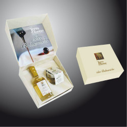 "Gift Case  ""Balsamic White Pearls and White Vinegar"" Terra del Tuono"