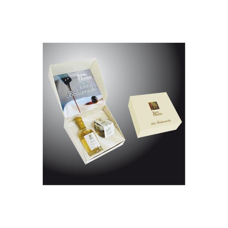 """Gift Case  """"Balsamic White Pearls and White Vinegar"""" Terra del Tuono"""