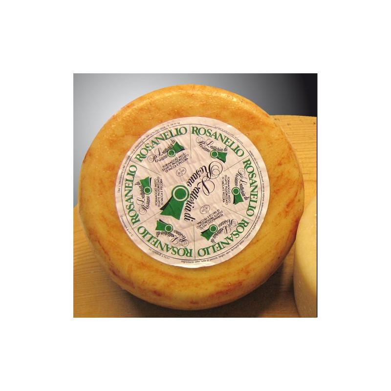 Rosanello Cheese mixed sheep – about 500g piece - Latteria Pascoli Alti