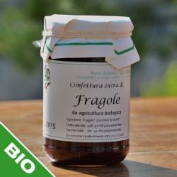 Confettura di fragole BIO con zucchero di canna - 330 g