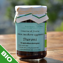 "Confettura di duroni senza zuccheri - 330 gr. Azienda Agriapistica Biologica ""La Natura"""