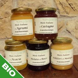 "Millefiori honey from the mountains, biological production  - 500 gr.  Azienda Agriapistica Biologica ""La Natura"""