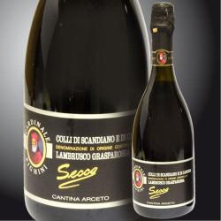 Lambrusco Grasparossa Sparkling  DOP - Cantina Arceto
