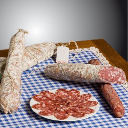 Traditional matured Emilian salami (about 600 gr-piece ) Salumificio del Buongustaio