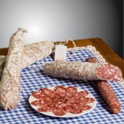Traditional matured Emilian salami (about 600 gr-piece ) Salumificio del Buongustaio