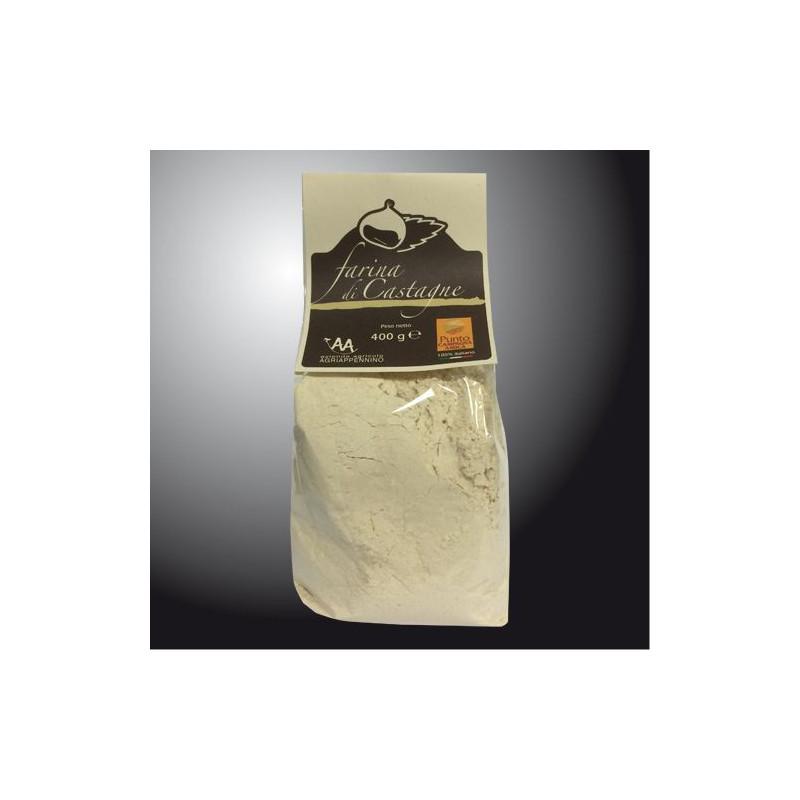 """Chestnut flour - 400 g - Farm """"Agriappennino"""""""
