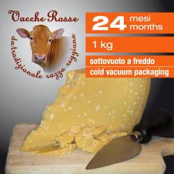 """Parmigiano Reggiano """"Vacche Rosse"""" 24 mesi - 1 kg"""