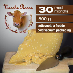 Parmesan Cheese Red Cows 30 Months - 500 G