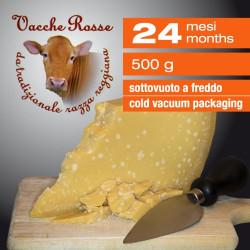"""Parmigiano Reggiano """"Vacche Rosse"""" 24 mesi - 500 g"""