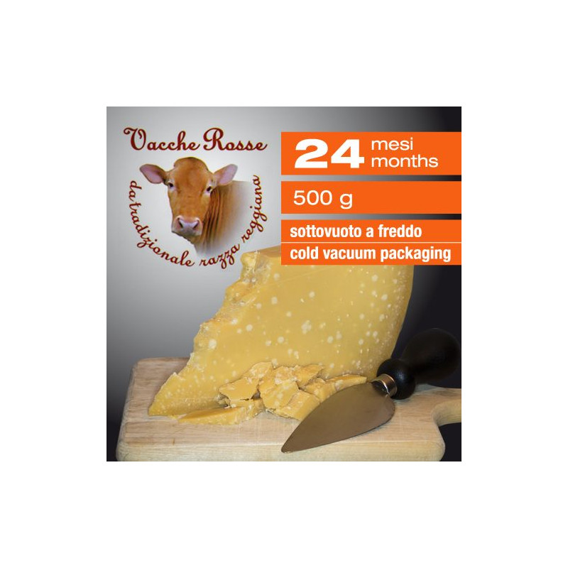 Parmesan Cheese Red Cows 24 Months - 500 G