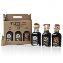 """Condimenti """"Trittico"""" - Acetaia Castelli"""