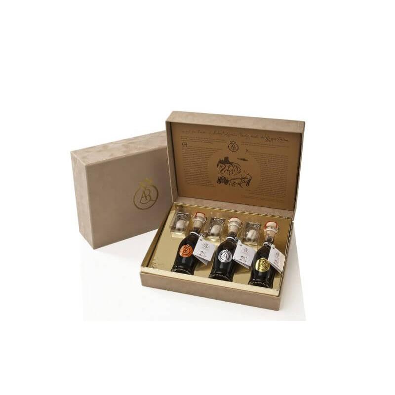 Tris 100 ml - Traditional Balsamic Vinegar from Castelli Reggio Emilia