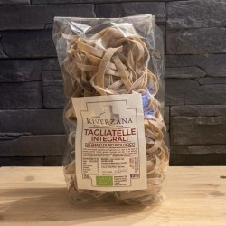 "Organic whole durum wheat ""Tagliatelle""- 250 gr - ""Riverzana""Farm"
