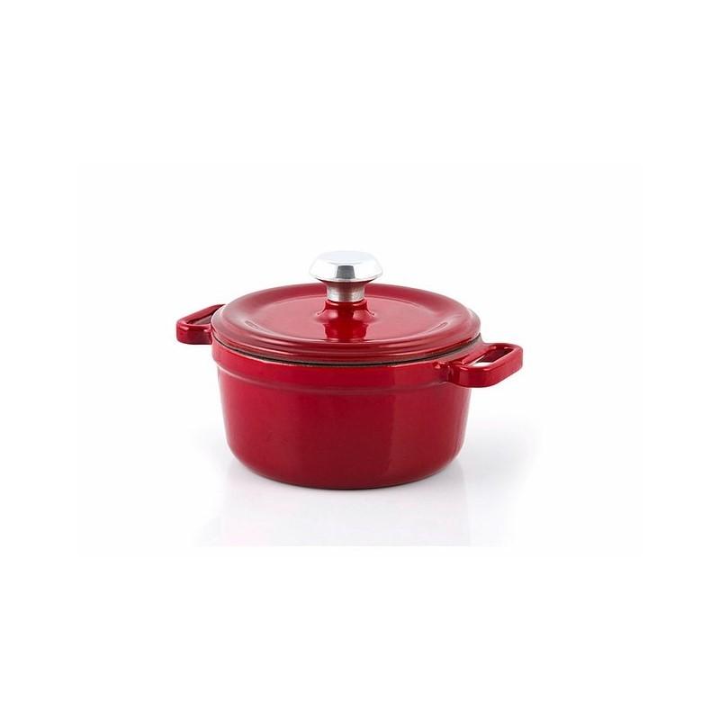 Mini-cocotte 10 cm red