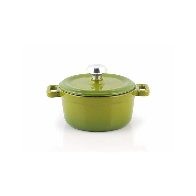 Mini-cocotte 10 cm green