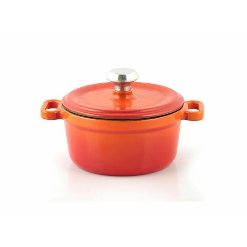 Mini-cocotte 10 cm orange