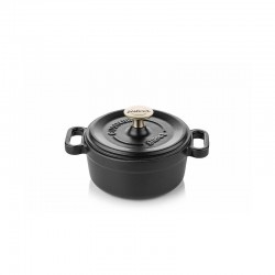 Mini-cocotte 14 cm black
