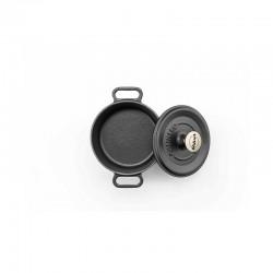Mini-cocotte 14 cm black op