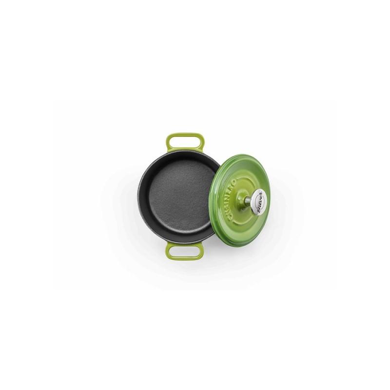 Mini-cocotte 14 cm green op