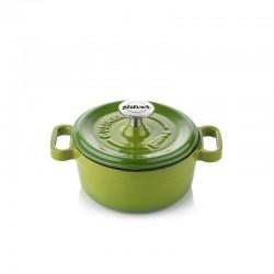 Mini-cocotte 14 cm green