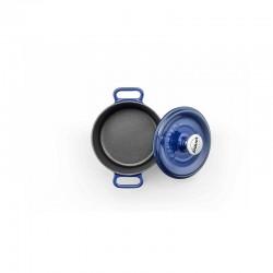 Mini-cocotte 14 cm blue op