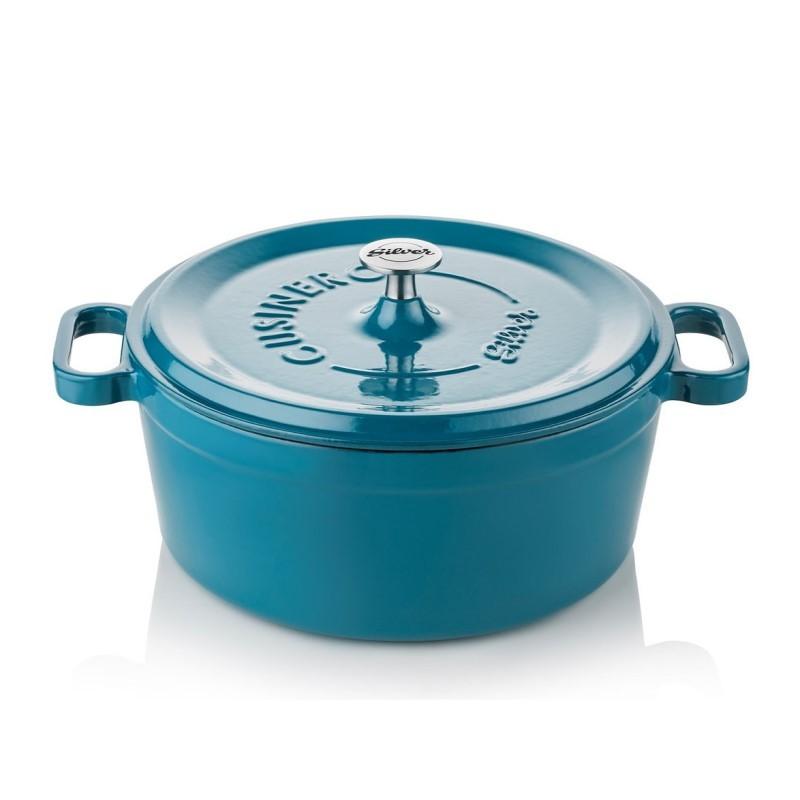 Cocotte 20 cm blue petroleum