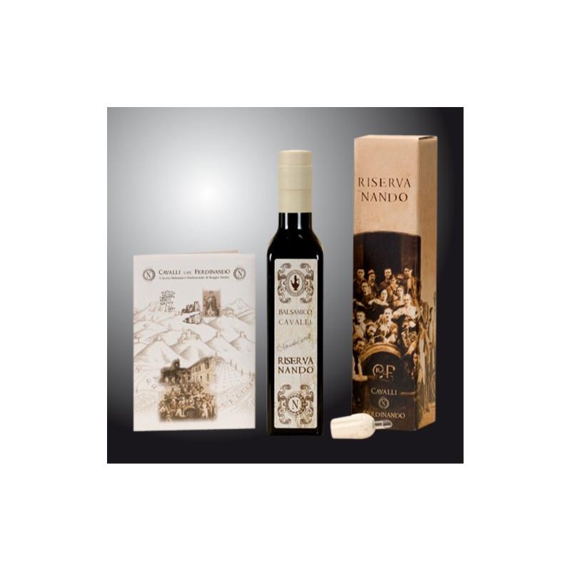 """Balsamic """"Riserva Nando"""" - Vinegar Factory Cavalli 250ml"""