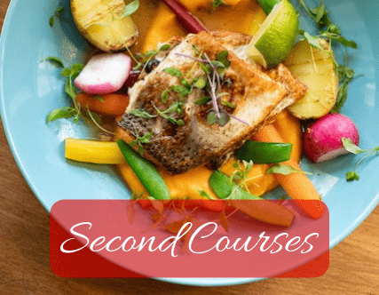 Second courses recipes