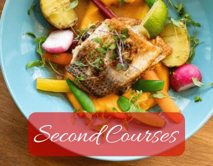 Second courses recipes